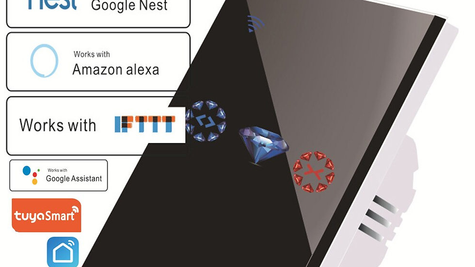 Wifi Smart Assistant  Lights  Clock   Amazon  Alexa Google Home Assistant IFTTT
