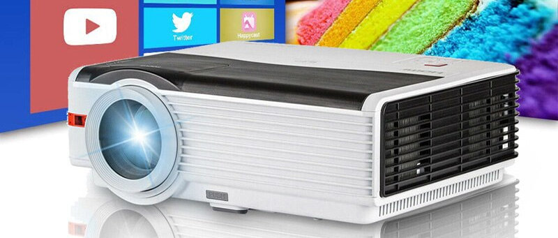 Smart WiFi LCD/LED 1080p Projector Home Cinema 6500 Lumens Full HD quality
