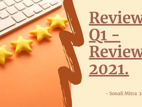 REVIEW 2021   QUARTERLY REVIEW   FIRST QUARTER REVIEW