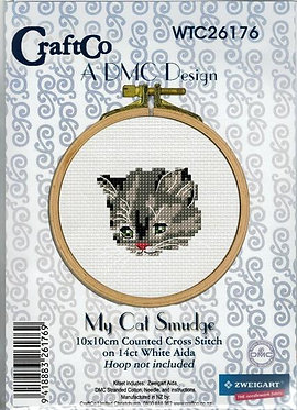 Cross Stitch - My Cat Smudge