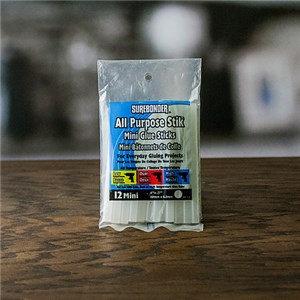 """Clear Hot Glue Sticks – Dual Temperature, Mini Size 4"""" - 12 Pack (DT-12)"""