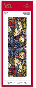 VICTORIA & ALBERT MUSEUM BOOKMARK KITS - THE STRAWBERRY THIEF BY WILLIAM MORRIS