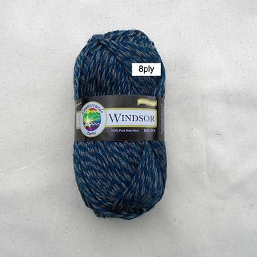 WINDSOR MARL 100% Wool 8ply/DK