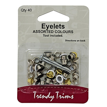 Trendy Eyelets with tool