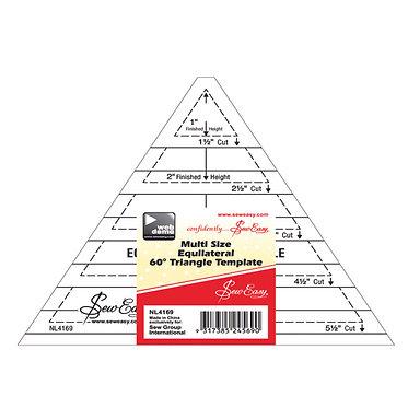 Triangle – Multi Size 60deg