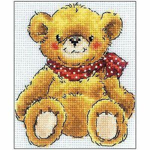 RTO Cross Stitch Kit - Teddy Bear H192