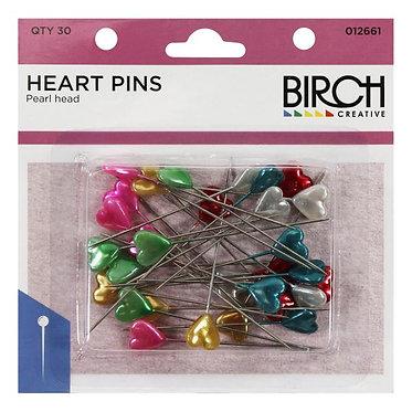 Heart Head Pins