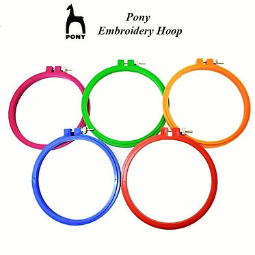 Pony Embroidery Hoops