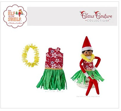 Claus Couture - Holiday Hula Wear