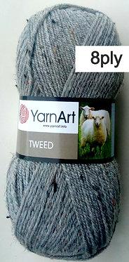 Yarn Art Tweed 8ply