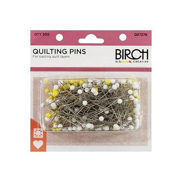BIRCH Quilting Pins Qty 300