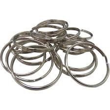 Curtain rings 28mm - pkt 25