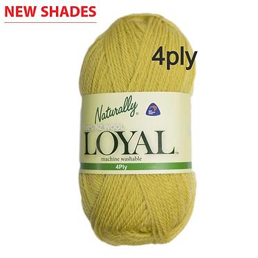 NATURALLY Loyal 4 ply