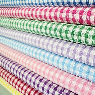 "1/4"" Gingham Poly/cotton 150cm"