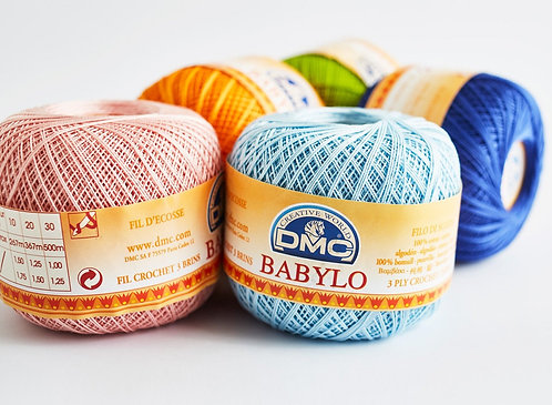 DMC BABYLO 10 Crochet Thread