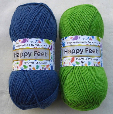 Countrywide HAPPY FEET 4ply (Sock)