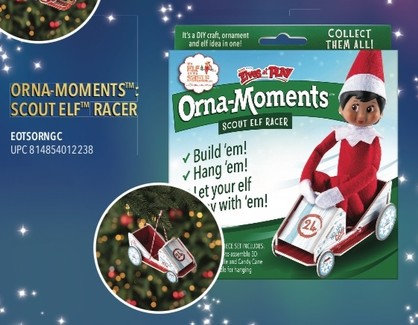 Orna-Moments Scout Elf Racer