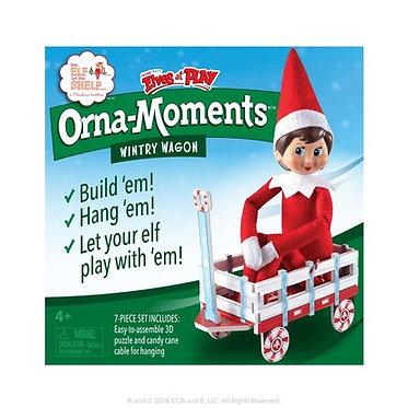 Orna-Moments Wintry Wagon