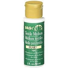 FolkArt ® Mediums - Textile Medium 2oz