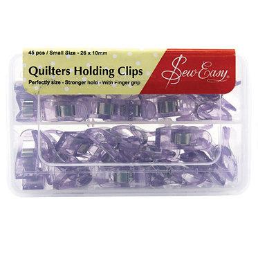 Sew Easy Quilt Clips 26x10mm 45pcs: Bulk
