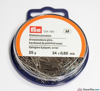 Prym Dressmakers Pins 25g Sil 34x0.60