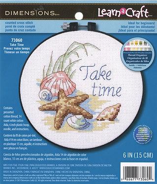 Cross Stitch - Take Time