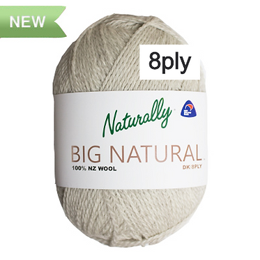 NATURALLY Big Natural 8ply/DK