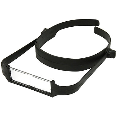 Magnifier – Hands Free includes 4 lenses