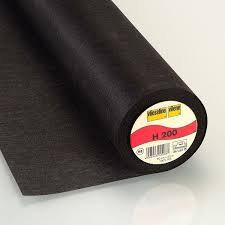 Vilene Interfacing - Black 90cm
