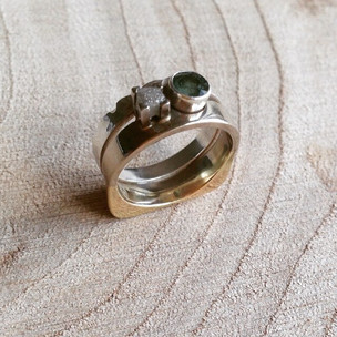 I found making this wedding ring for my