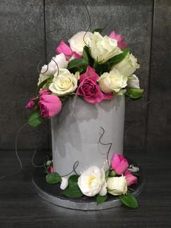 Buttercream and Fresh Flower Cake