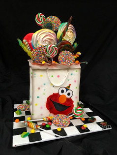 Elmo Party Cake