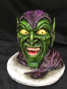 Green Goblin Cake