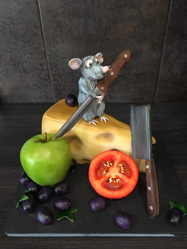 Ratatouille Disney Cake