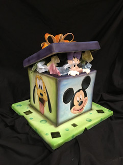 Mickey and Friends Party Cake