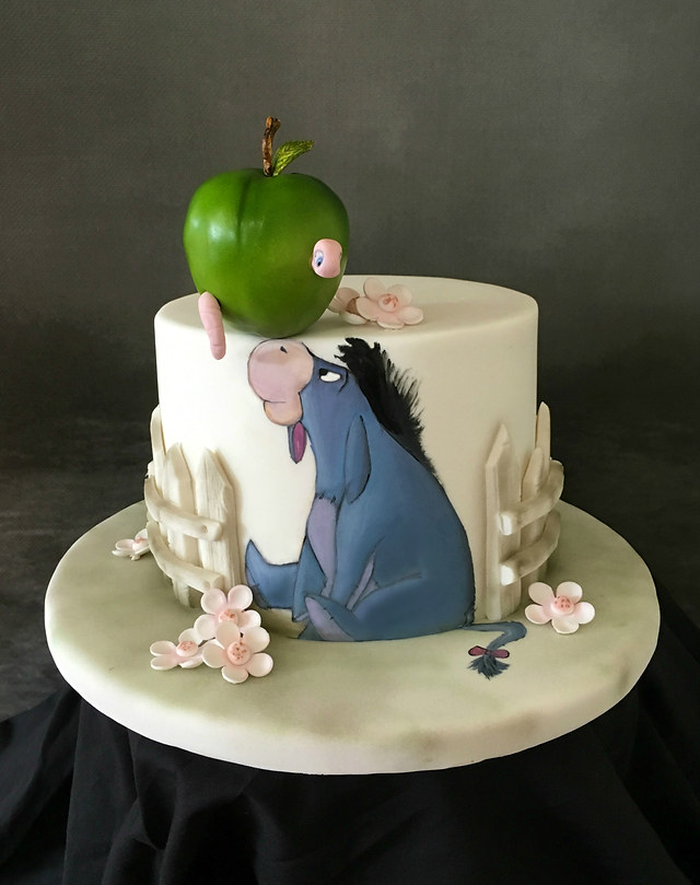 Eeyore and Apple Cake