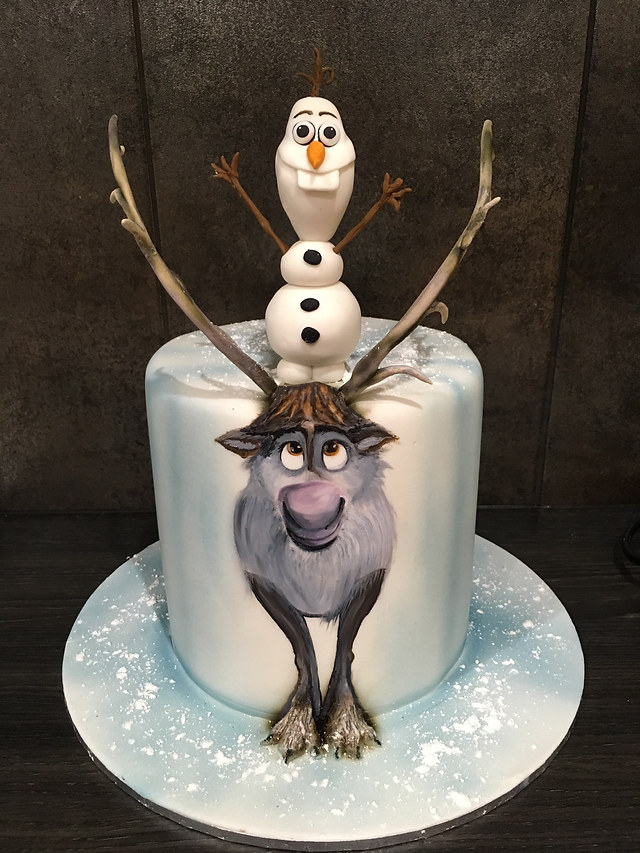 Frozen Sven and Olaf