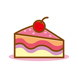 —Pngtree—cute slice of cake vector_51944
