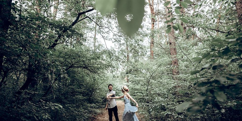 Armastuse Rännak paaridele tseremoniaalse ja südant avava kakaoga