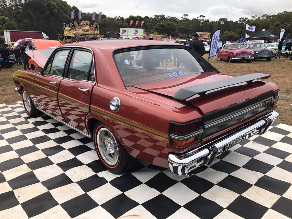 Bronze Wine XY GTHO Replica