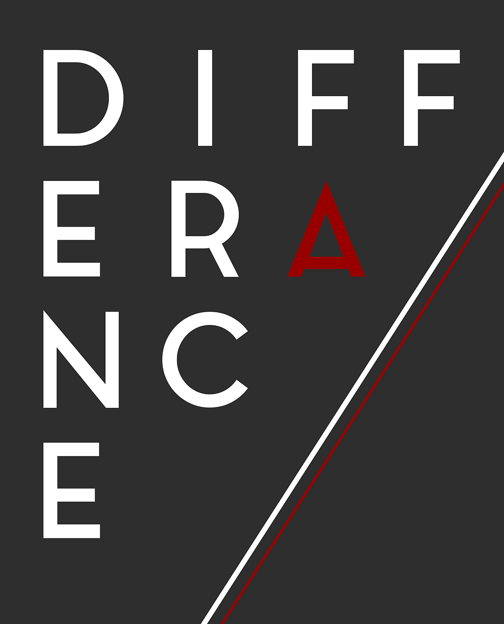 Logo Différance black