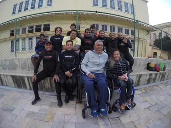 A primeira empresa em Salvador de Mergulho Adaptado Foto 01