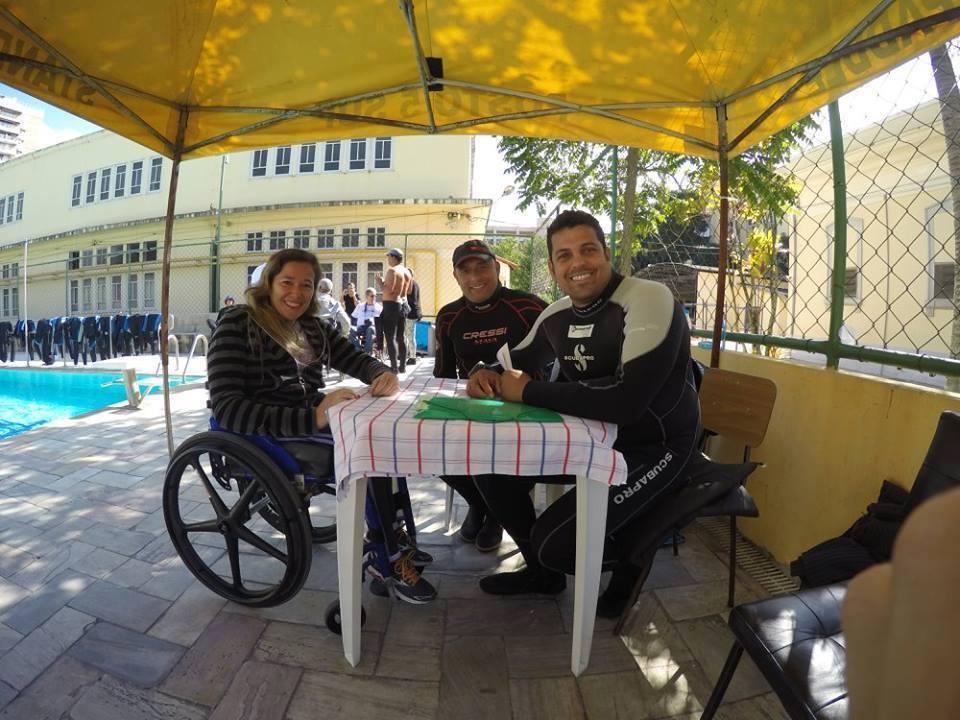 A primeira empresa em Salvador de Mergulho Adaptado Foto 07
