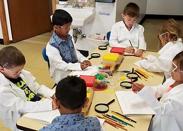 STEM program scientists