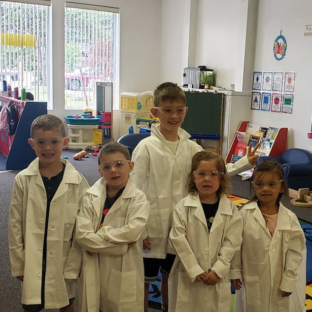 Our little scientists