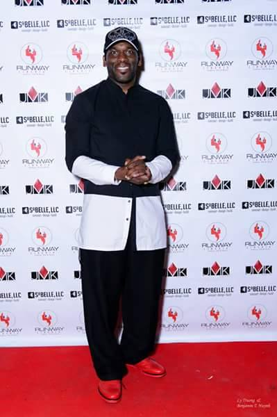#RunwayLiberiaIntl2016_Dr Jamal Harrison Bryant on the red carpet at Runway Liberia International Sh