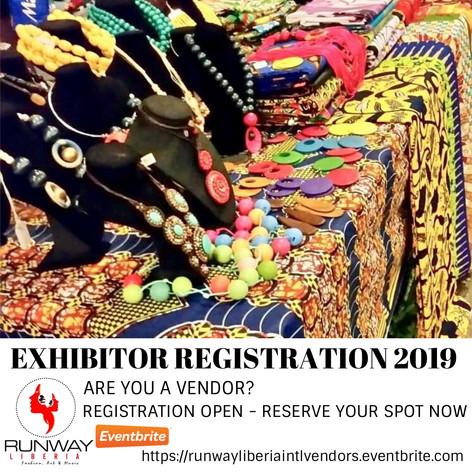 Vendors Registration - 2019