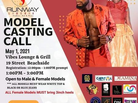 Runway Liberia International - Open Call For Models