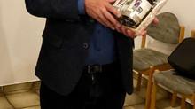Klaus Fischer scheidet nach über 20jähriger Tätigkeit im Vorstand des TV Blau Weiß Schlüchtern aus
