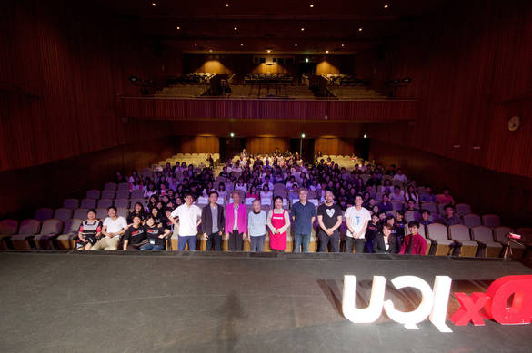 Group picture from TEDxICU 2016